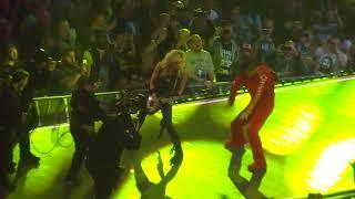 Entrada de Shinsuke Nakamura en WrestleMania 34