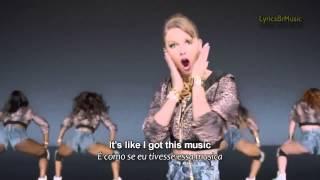 Taylor Swift - Shake It Off (Lyrics - LEGENDADO) (Official Video)