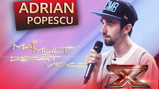 Adrian Daniel Popescu a interpretat o creație proprie pe scena X Factor