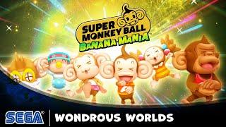 Roll through wondrous worlds in new Super Monkey Ball Banana Mania trailer