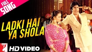 Ladki Hai Ya Shola - Full Song HD   Silsila   Amitabh   Rekha   Kishore Kumar   Lata Mangeshkar width=