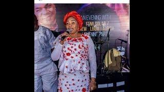 Yinka Ayefele Is Different From Femi Solar : Says Tope Alabi At Femi Solar ' Album Launch