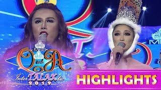 It's Showtime Miss Q & A: Ayesha Lopez faces the contender K Bernardo in 'Beklamation'