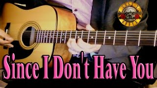 ♪♫ Guns N' Roses - Since I Don't Have You - Cover By Ash Almond (with guitar solo)