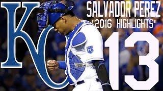 Salvador Pérez | Kansas City Royals | 2016 Highlights Mix ᴴᴰ