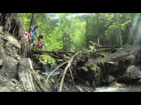 Karpatentour 2010: Ukraine, Piste zum Berg Petros