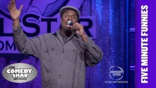 Corey Holcomb⎢My daughter was a freak at 3 months old⎢Shaq's Five Minute Funnies⎢Comedy Shaq