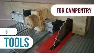 ✔️3 HERRAMIENTAS para carpintería hechas en casa 🤯 AMAZING IDEA