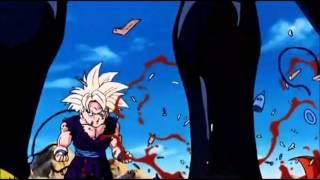 """Gohan turns Super Saiyan 2 (Edited theme, """"Gohan Angers"""")"""
