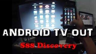 [TV OUT] Cara Menampilkan Layar Android Ke TV via IMO S88 Discovery