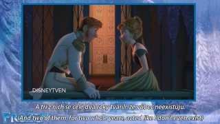 Frozen - Love is an Open Door (czech) subs&trans/Ledové Království - Otevře Láska Má