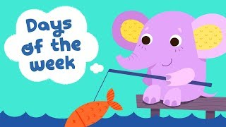Days of the week song for kindergarten kids | Children songs with lyrics