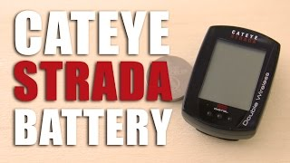 Replace the Battery on a Cateye Strada Double Wireless Computer