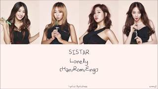 SISTAR 씨스타: Lonely [Han/Rom/Eng] Lyrics