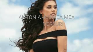 Antonia - Iubirea mea (Versuri)