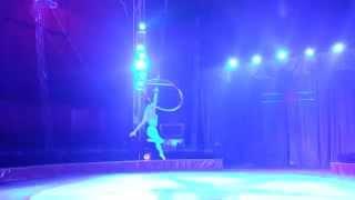 Aerial ring  performer - Solo Inga. 2014.