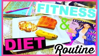Diet & Fitness Routine + Six Pack Abs Shortcut