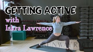 Iskra Lawrence's Yoga-Inspired Stretches to Cool Down With | GETTING ACTIVE - Episode 007