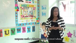 ภาควิชาภาษาอังกฤษแผนกอนุบาล ปีการศึกษา 1/2562