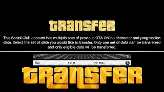 GTA 5 Next Gen How To Transfer Your Online Character To PS4, Xbox One & PC !