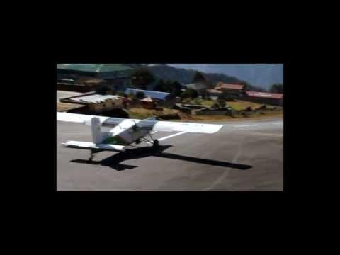 Gefährlichster Flughafen der Welt – Lukla im Himalaya Nepal