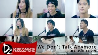 We Don't Talk Anymore (Acoustic Cover) - Sam Mangubat, Jun Sisa, Shane Anja Tarun