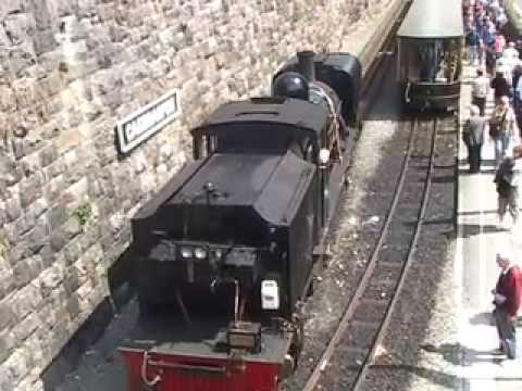 Beyer-Garratt No 143 on the Welsh Highland Railway Part 2 of 2