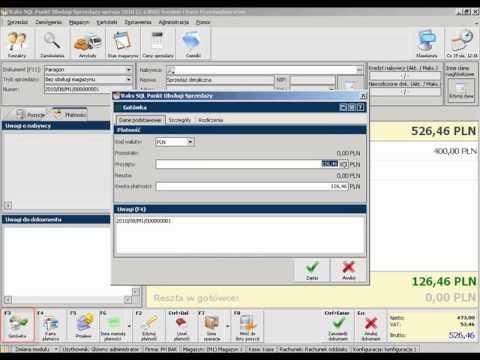 Program do obsługi szybkiej sprzedaży RAKSSQL