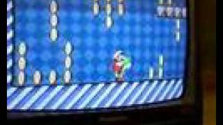 Bugs do Mario - Pegando todas as moedas do bonus