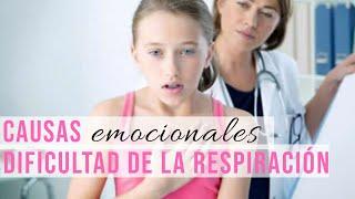 Causas Emocionales de la Dificultad de Respiración #Psicología