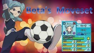 Beta's Moveset in Inazuma Eleven Go Strikers 2013