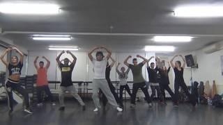 Thriller Dance Rehearsal - Anthony King