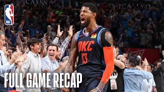 ROCKETS vs THUNDER | Houston & Oklahoma City Battle Till The Final Whistle | April 9, 2019