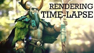 Nature's Prophet Rendering Time-Lapse