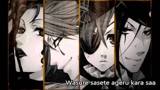 【Nightcore】Enamel - Black Butler: Book of Circus【Lyrics】