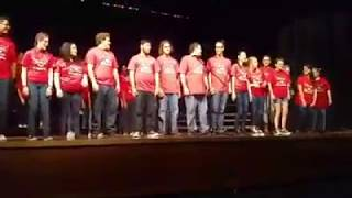 "Rascal Flatts' ""Life Is A Highway"" from Disney/Pixar's 'Cars' - PCHS Choir - Spring Concert 2017"