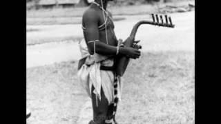 Kundi harp; old recording from Congo, Afrika (1952)