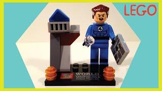 LEGO Sr. Fantástico Reed Richards Quarteto Fantástico Marvel Fantastic 4 Mr. Fantastic