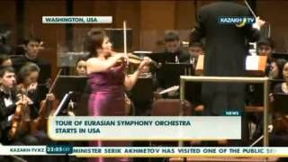 Tour of Eurasian symphony orchestra starts in the USA