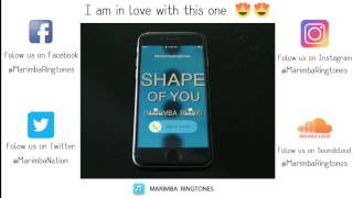 Shape of You (Marimba Ringtones Remix)