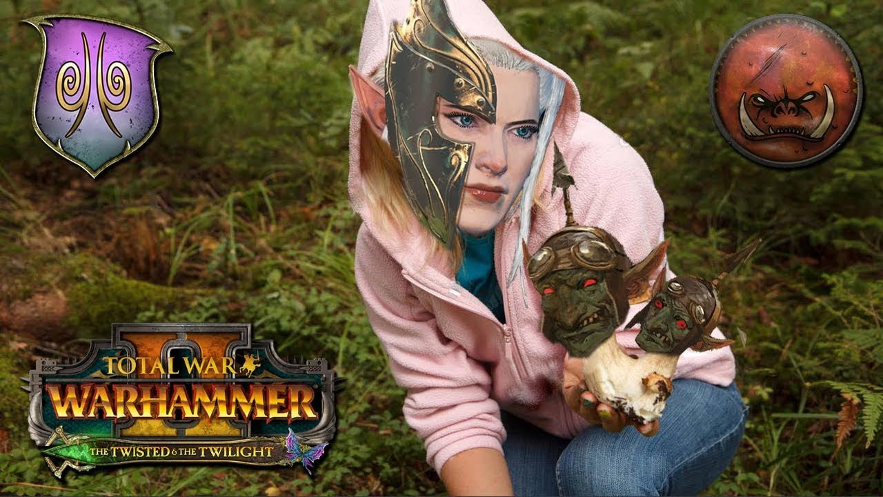 Turin - Sisters of Twilight Truffling For Mushrooms   Wood Elves vs Greenskins - Total War Warhammer 2