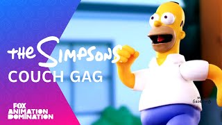 Robot Chicken Couch Gag | Season 24 | THE SIMPSONS