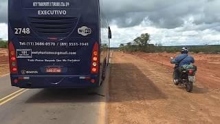 BR 135 Piauí está em obras de alargamento entre elizeu Martins a colônia do Gurguéia.