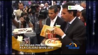 Premiación MYPE 2014 en palacio