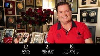 Marco Paulo - Tour 50 anos | Mensagem