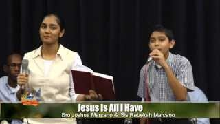 Jesus is All I have - Third Exodus Assembly - Youth Meeting - SONGS SPECIALS width=