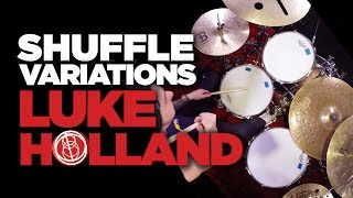 Shuffle Groove Ideas - Luke Holland Drum Lesson