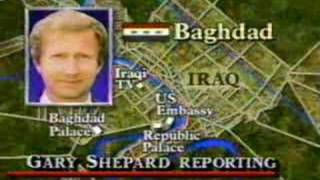 Desert Storm Begins During News Broadcast 1/2