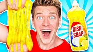 Making Slime out of Weird Objects! Learn How to Make No Glue Diy Best Slime vs Real Food Challenge