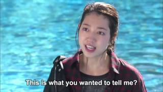 The Heirs Pool scene best scene ever Eng Sub width=